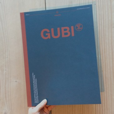 PUBLICATION LAYOUT <br/> GUBI Magazine