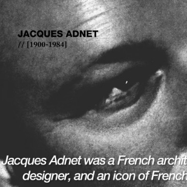FILM PRODUCTION <br/> Jacques Adnet