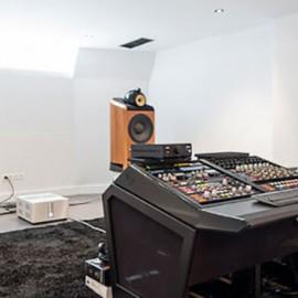 INTERIOR ARCHITECTURE <br/> Music Studio