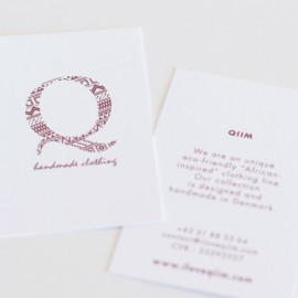 VISUAL IDENTITY<br/> Qiim clothing